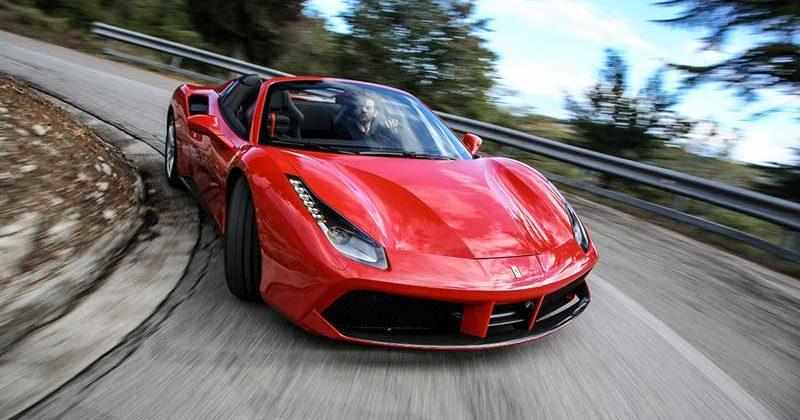 Location Ferrari Nice – Alpes-Maritimes * Ferrari 488 Spider